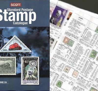 Central Lithuania 2019 Scott Catalogue Pages 207-210
