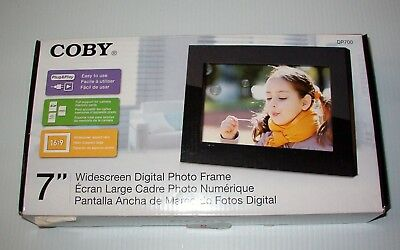 "Coby DP-700 7"" Digital Picture Frame, Black"