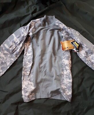 Massif Elements Us Army Combat Shirt Acu Ucp Fr Nomex Under  Armour
