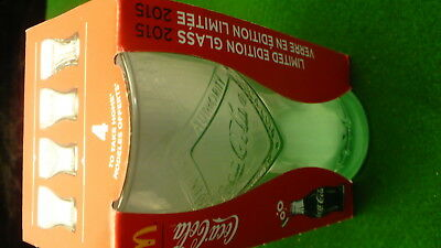 Coca Cola 2015 - 2016 limited edition glass NEW in box reproduction 100 year