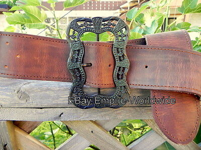 JACK SPARROW Anna Maria waist belt + buckle pirate 3 ,4 VERSION 3 (NEW LEATHER)