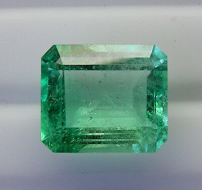 4.28ct!! NATURAL COLOMBIAN EMERALD NATURAL COLOUR +CERTIFICATE AVAILABLE