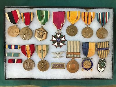 Original WWII and Korean War Legion of Merit Medal Group Named Colonel US Army