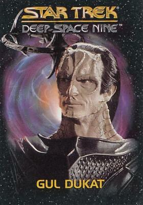 1993 Star Trek Deep Space Nine DS9 Gul Dukat Playmates Toys card in NM condition