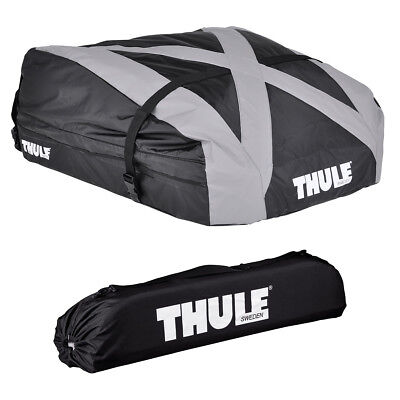 thule dachbox touring s 100 schwarz gl nzend 139x90 cm. Black Bedroom Furniture Sets. Home Design Ideas