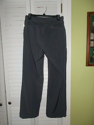 b37f15479b4 CHEROKEE SCRUBS INFINITY Antimicrobial Pewter Pants 1123A Medium GUC ...