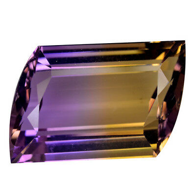13.91Ct TOP MOST EXTREME SPARKLING ! BEAUTIFUL TOP RICH FIRE AAA BEST AMETRINE