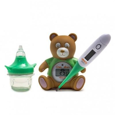 Vital Baby HEALTH & SAFETY KIT Baby/Toddler Thermometer Nasal Decongester