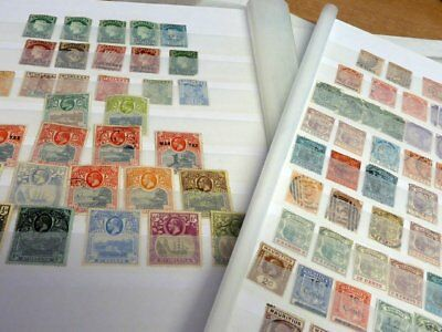 British Commonwealth: Qv To Gv Collection On Stock Pages #1