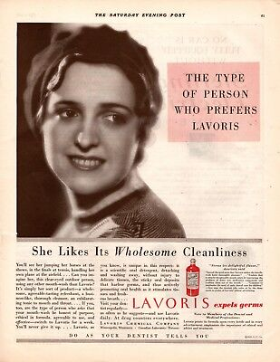 1931 Magazine Ad Lavoris  Advertisment  A210