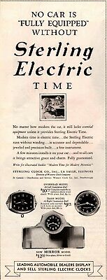 1931 Magazine Ad Sterling Electric Clocks  Advertisment  A210