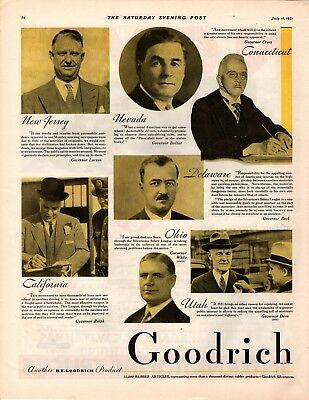 1931 Magazine Ad Goodrich  Advertisment  A213