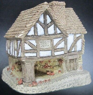 David Winter Cottages Little Market Made In Great Britain 1980