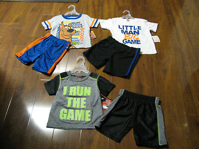 6 Piece Lot of Boys Spring Summer Clothes Size 18 Months NWT 18M New