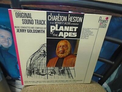 Planet of The Apes Soundtrack [Jerry Goldsmith] LP Project 3 Records EX