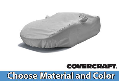 Custom Covercraft Car Covers for Toyota Sedan -- Choose Your Material and Color