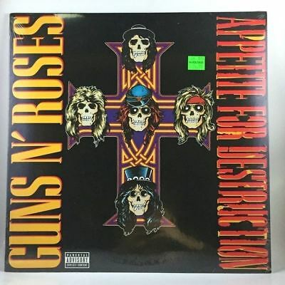 Guns N' Roses - Appetite For Destruction LP NEW reissue