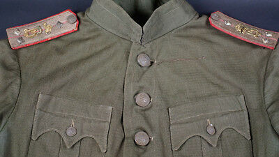 Wwii Bulgarian Officer's Tropical Uniform