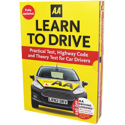 AA Learn to Drive - 3 Book Box Set by AA (Paperback), Non Fiction Books, New