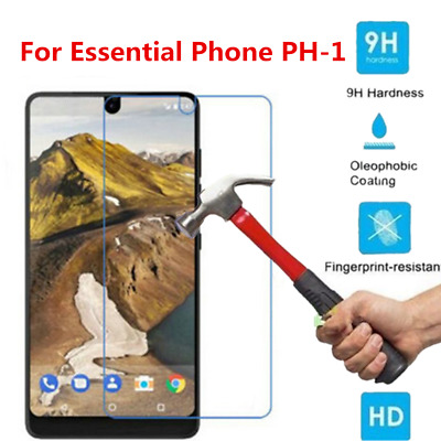 For Essential Phone PH-1 2x Ultra Slim 9H+ Tempered Glass Screen Protector Cover