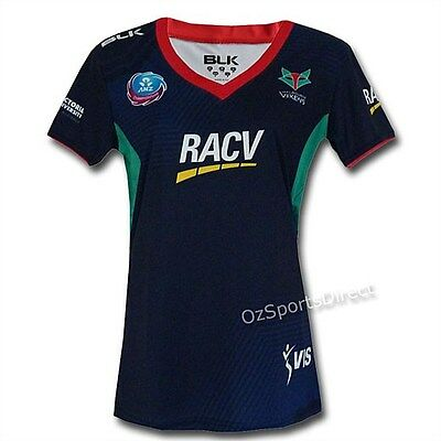 Melbourne Vixens 2016 Warm-Up T-shirt YOUTH Sizes 6 - 14 **SALE PRICE**