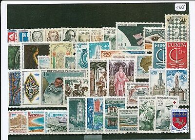 Timbres De France Annee Complete 1963 Neuf Luxe **