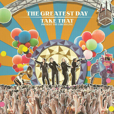Take That : The Greatest Day: Take That Presents the Circus Live CD (2009)