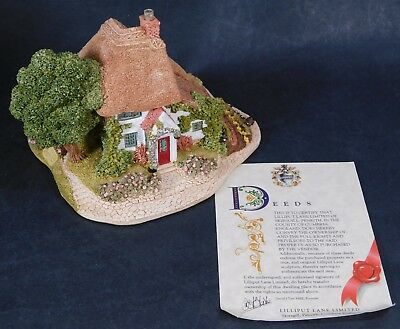 Lilliput Lane GARDENERS COTTAGE COLLECTORS CLUB SPECIAL 1991/92  With Deeds