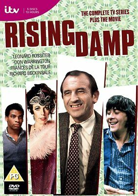Rising Damp The Complete Series Season 1, 2, 3 & 4 plus The Movie DVD Collection
