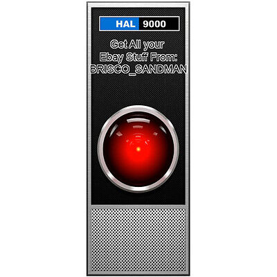 Fridge Fun Refrigerator Magnet 2001 SPACE ODYSSEY: HAL-9000 Kubrick Clarke COOL!