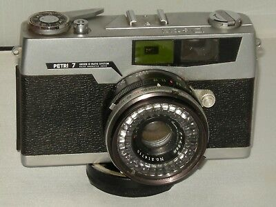 Petri 7 Vintage 35mm Camera with Case