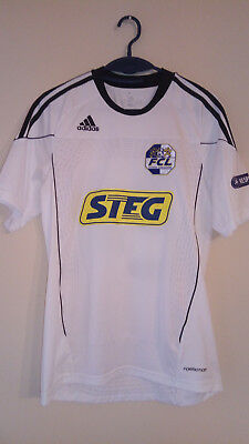 jersey/shirt/trikot adidas LUZERN 10-11 M #24 Wiss PLAYER ISSUE signed formotion