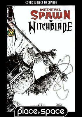 Medieval Spawn And Witchblade #1C - B+W Mcfarlane Variant (Wk19)