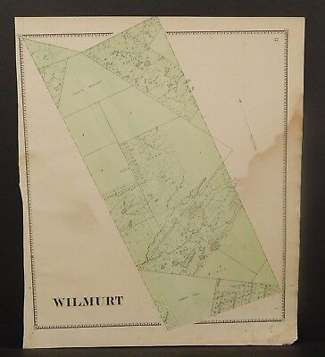 New York Herkimer County Wilmurt Township 1868   Y16#86