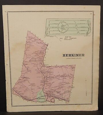 New York Herkimer County Kerkimer Township 1868   Y16#87