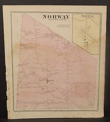 New York Herkimer County Norway Township 1868   Y16#89