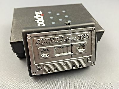 ZIPPO The Sound Tape Emblem very rare collectible lighter