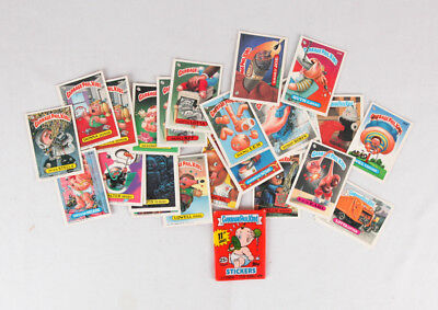 Garbage Pail Kids 8th and 11th Series Lot of 25 Single Cards Stickers, EX