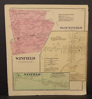 New York Herkimer County Winfield Township 1868   Y16#94