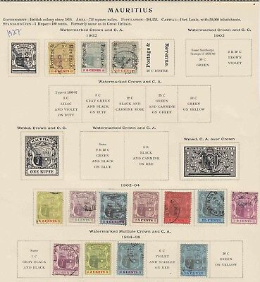 Mauritius 4 Sound Pages Collection Lot $150+