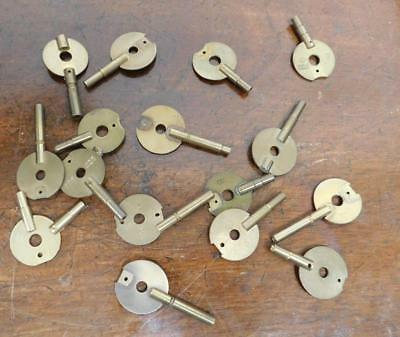unfinished carriage clock type keys
