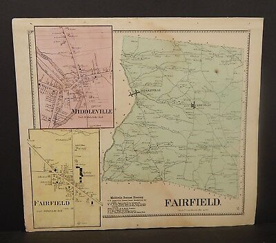 New York Herkimer County Fairfield  Township 1868   Y16#102