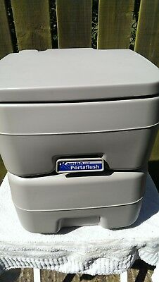 Kampa Portaflush 20 Camping Caravan Portable Potti Toilet, **collection Only**