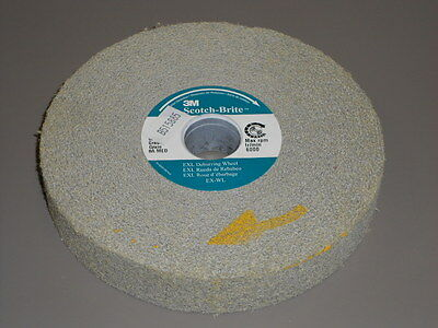 3M Scotchbrite Exl Deburring Wheel 6X1X1 8A-Medium 13617