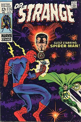 Doctor Strange # 179 - Very Scarce - Spiderman - Barry Windsor Smith Cover-Cents