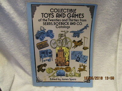 Vtg. Book: Collectible Toys and Games of the 1920s and '30s from Sears Roebuck