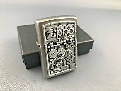 ZIPPO Steampunk Gear Wheels - emblem edition - rare collectible lighter