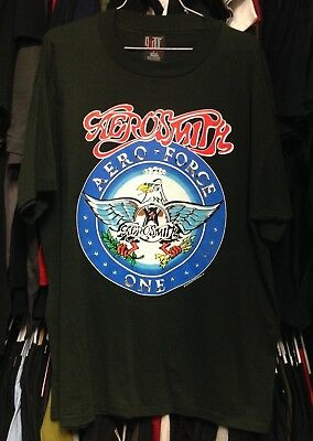 0354102d4 VINTAGE Aerosmith Aero Force One 1993 T Shirt