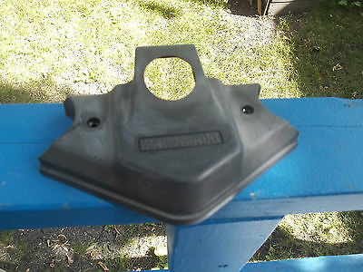 1987 Kawasaki Gpz305 Top Yoke Cover Gpz 305 Handlebar Ignition Switch Cover