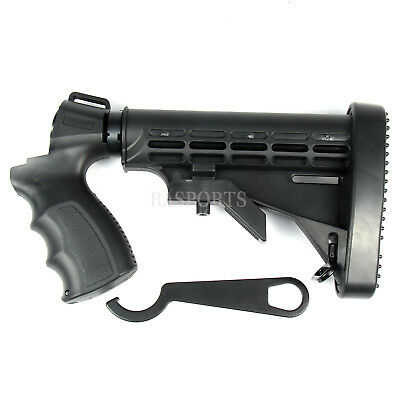 Adjustable Tactical Stock + Grip + Wrench For Mossberg 500 535 590 Maverick 88